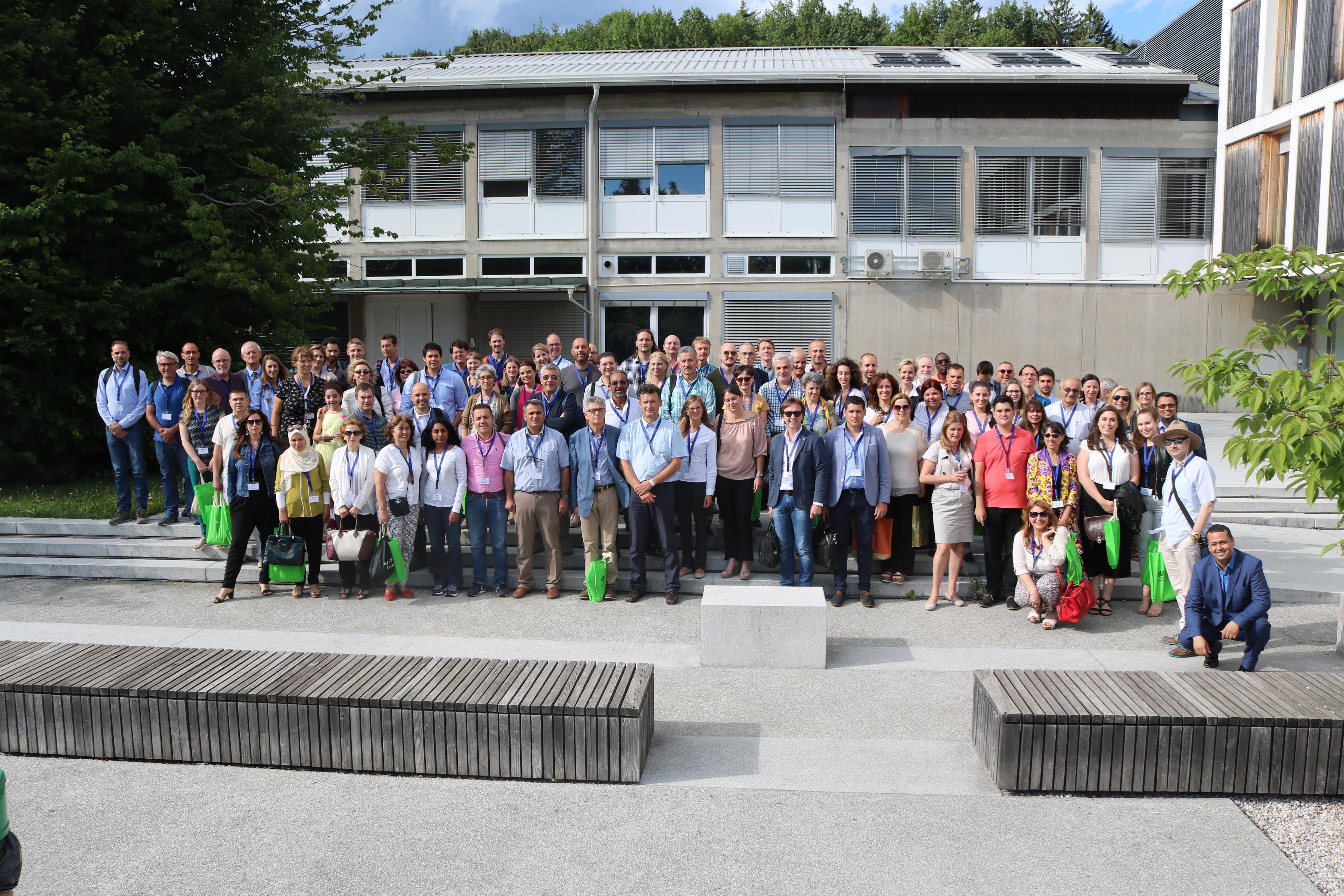 IOBC 2017 Ljubljana participants (photo: Jaka Rupnik)